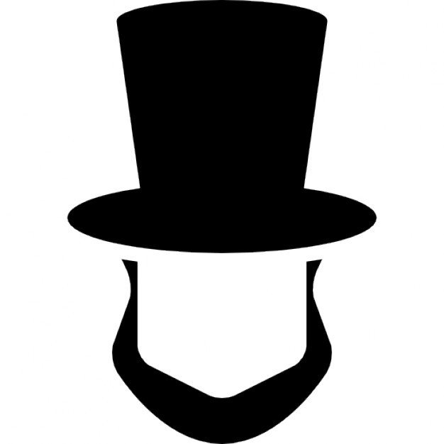 Abraham Lincoln Hat Template Abraham Lincoln Vectors S and Psd Files