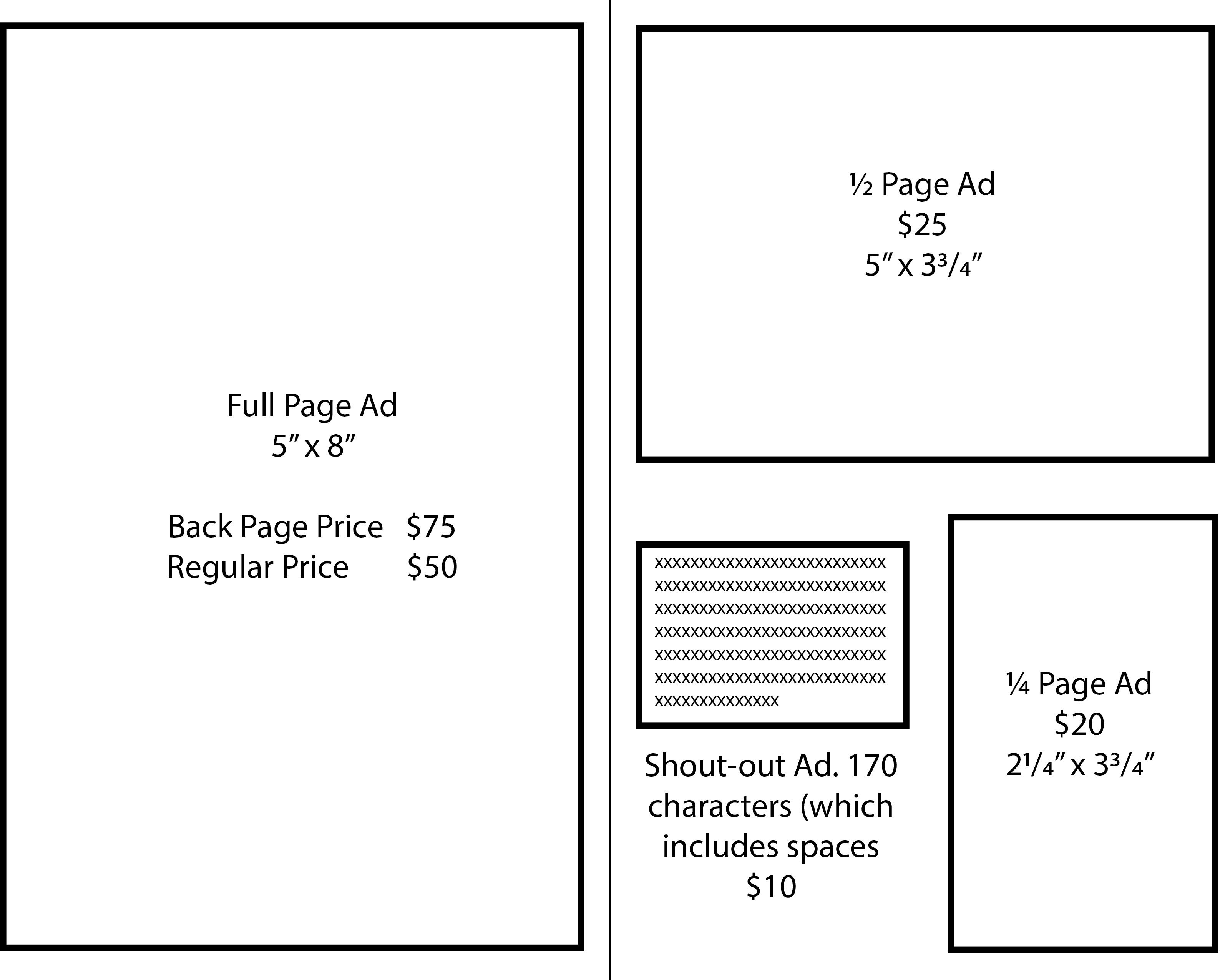 Ad Book Fundraiser Template Hamden High School Music Program Home