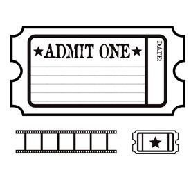 Admit One Ticket Template 25 Best Ideas About Admit E Ticket On Pinterest