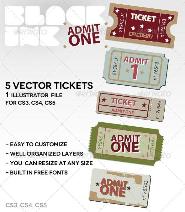 Admit One Ticket Template Best 25 Admit One Ticket Ideas On Pinterest