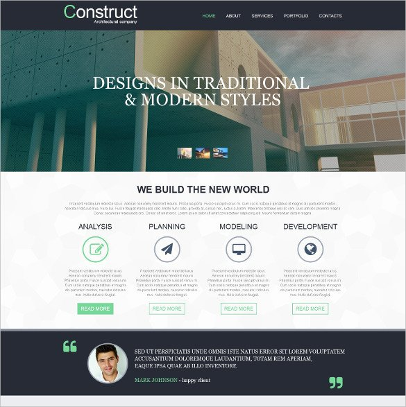 Adobe Muse Free Template 21 Free Muse themes & Templates