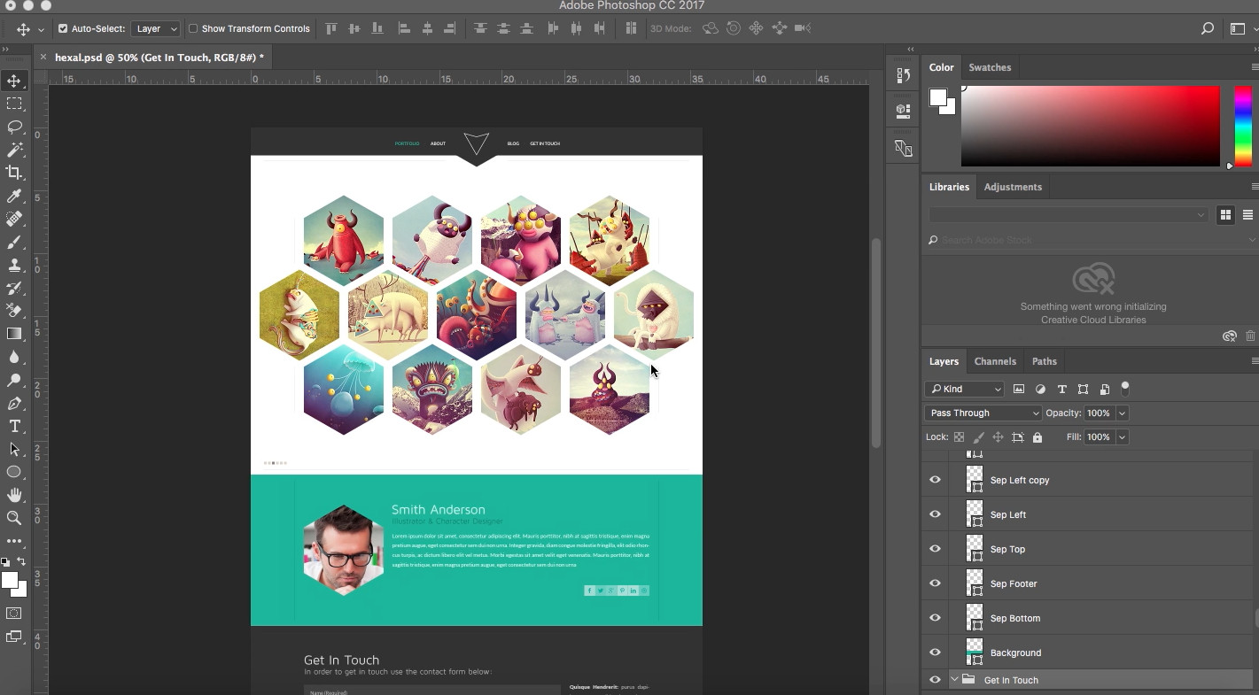 Adobe Muse Free Template How to Place Your Psd Template to Adobe Muse Responsive