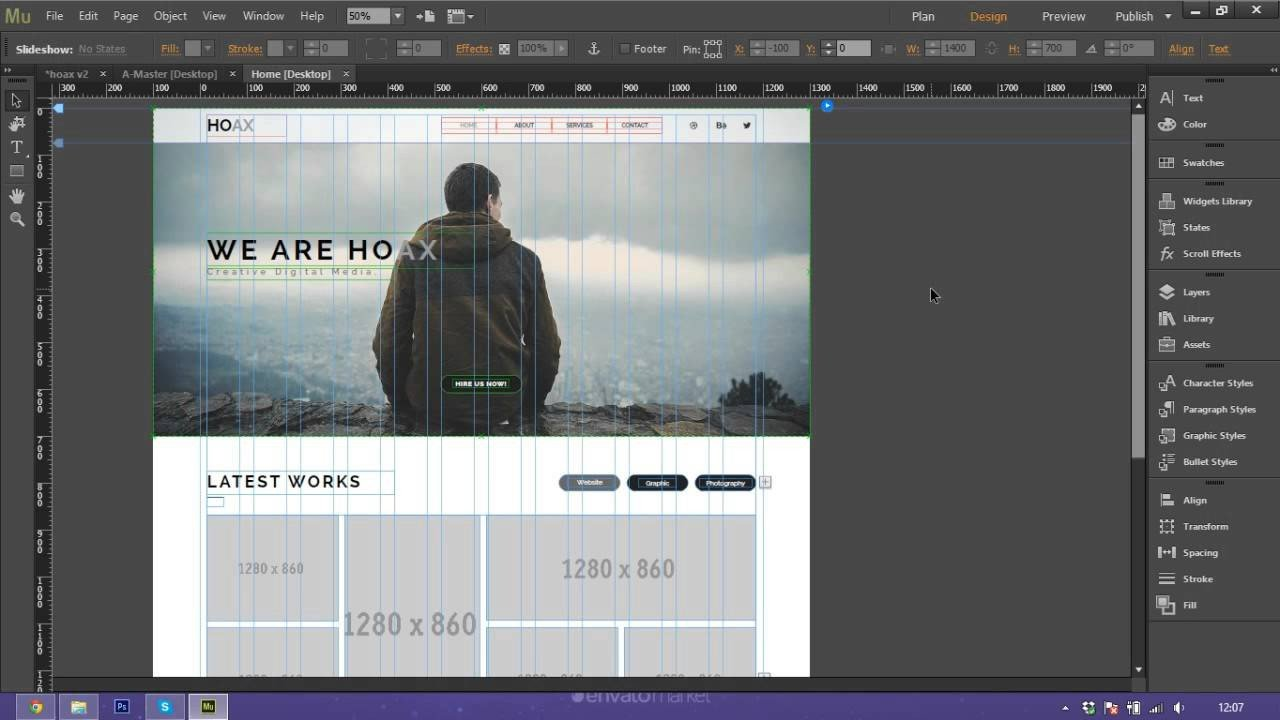 Adobe Muse Free Template How to Use and Customize Adobe Muse Template Hoax