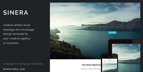 Adobe Muse Free Templates 32 Best Adobe Muse Graphy Portfolio Templates