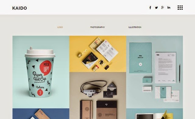 Adobe Muse Portfolio Templates 15 Best Free and Premium Adobe Muse Templates 2015 Web