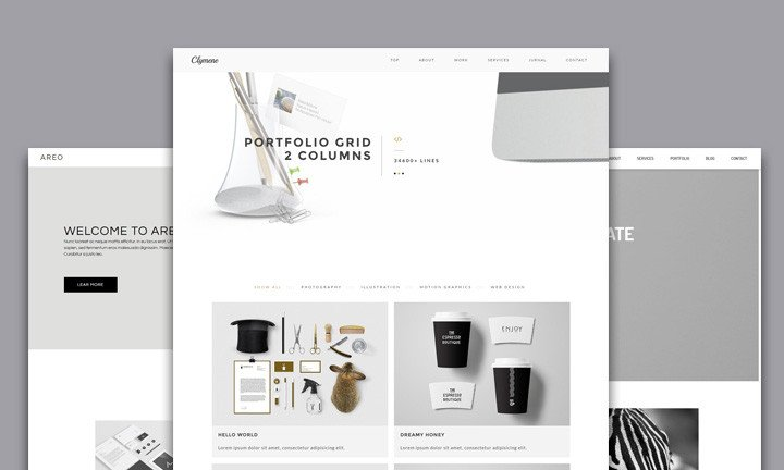 Adobe Muse Portfolio Templates 25 Best Creative Business Portfolio Adobe Muse Templates