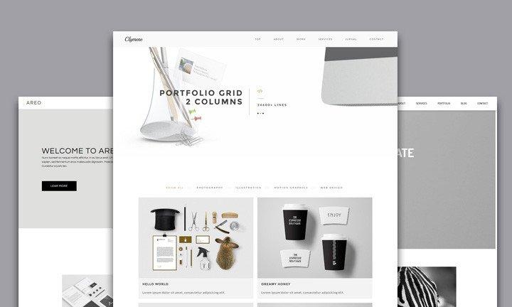 Adobe Muse Portfolio Templates 25 Best Creative Business Portfolio Adobe Muse Templates
