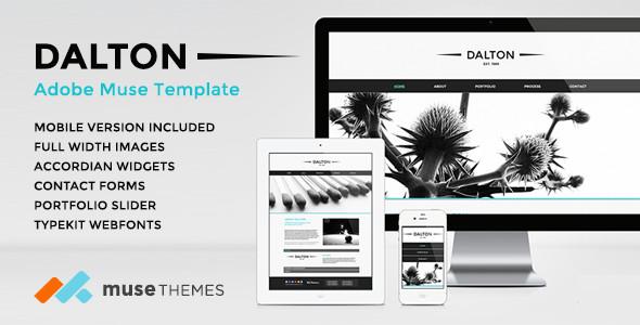 Adobe Muse Portfolio Templates 32 Best Adobe Muse Graphy Portfolio Templates