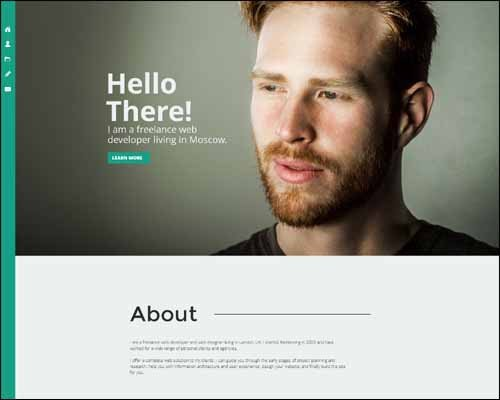 Adobe Muse Portfolio Templates Responsive Adobe Muse Templates & themes