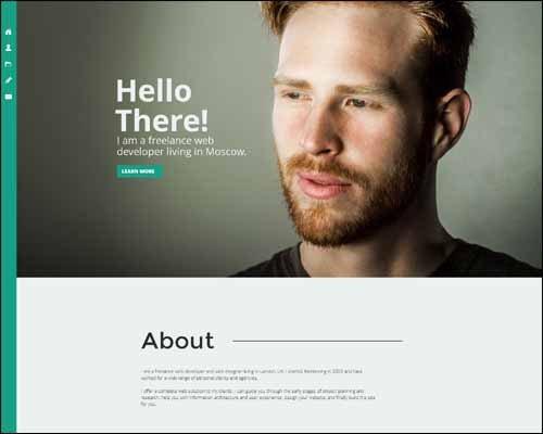Adobe Muse Portfolio Templates Responsive Adobe Muse Templates & themes