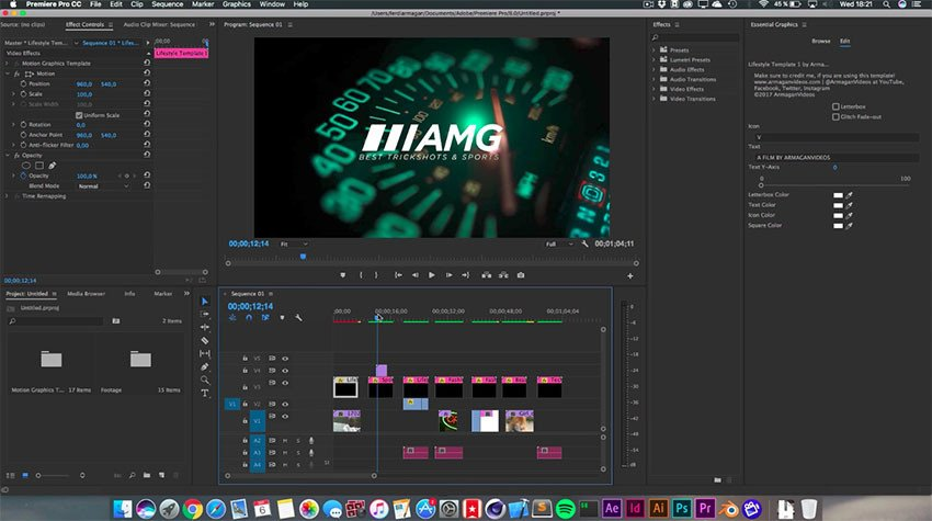 Adobe Premiere Intro Templates Get these Awesome Free Title Intro Templates with