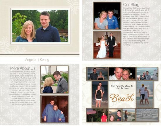 Adoption Profile Book Template 9 Best Images About Adoption Profile Book Ideas On