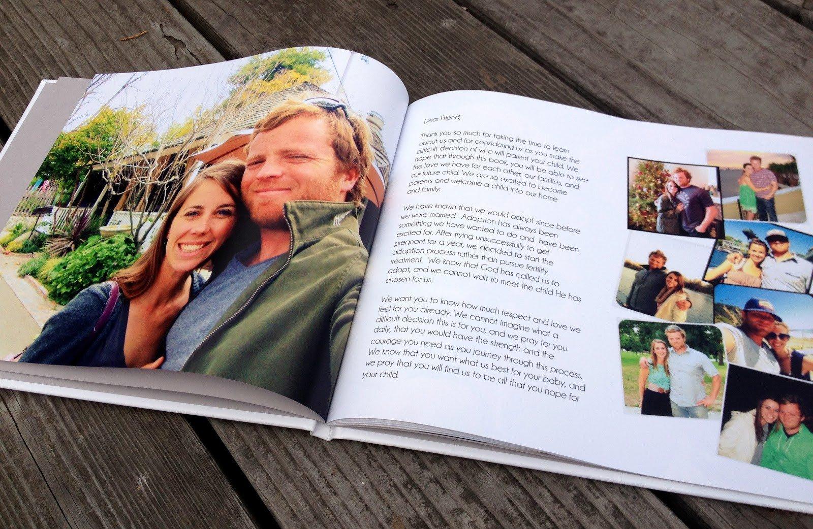 Adoption Profile Book Template Our Adoption Profile Book Frompo