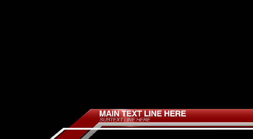 "After Effect Lower Third Template ""corner Angles"" Free after Effects Lower Third Template"