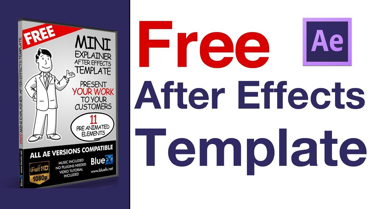 After Effects Templates Free after Effects Templates Video Explainer after Effect