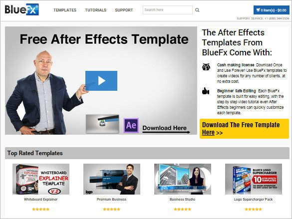After Effects Templates Free Download 9 Free Websites to Download after Effects