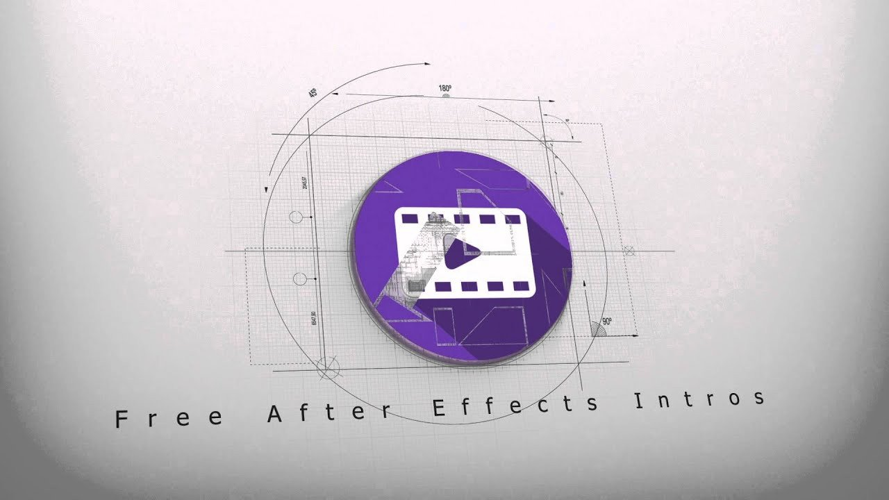 After Effects Templates Free Download Free Architect Logo Reveal Intro 3