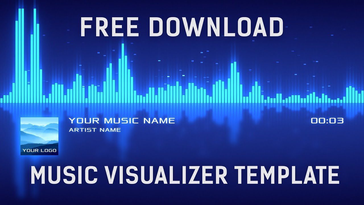 After Effects Templates Free Download Free Music Visualizer after Effects Template [free
