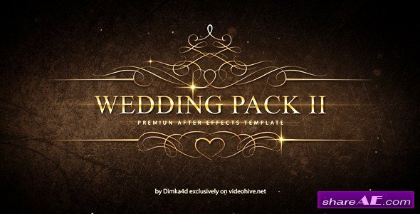 After Effects Templates Free Download Wedding Pack Ii after Effects Project Videohive Free