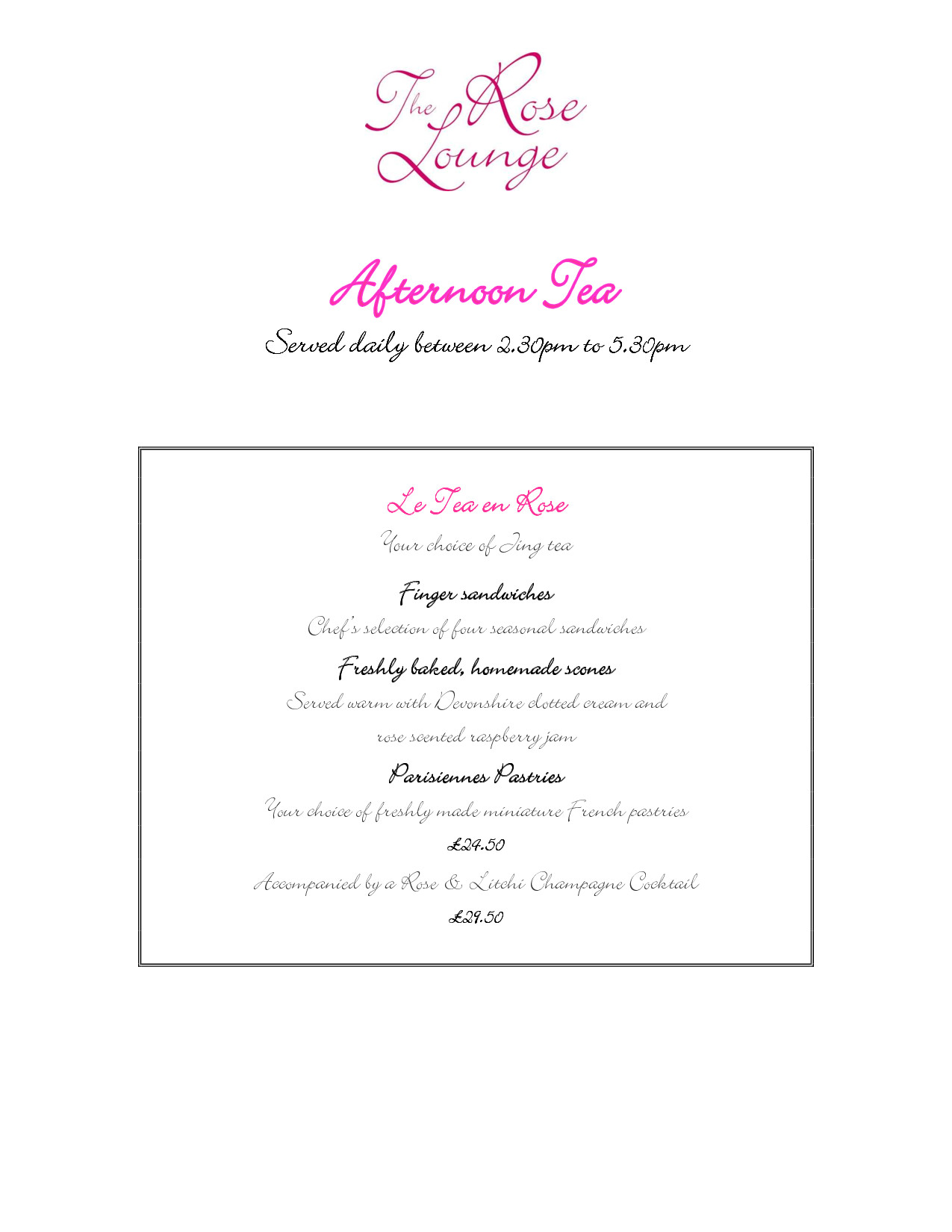 Afternoon Tea Menu Template Vintage afternoon Tea Menu Template Google Search