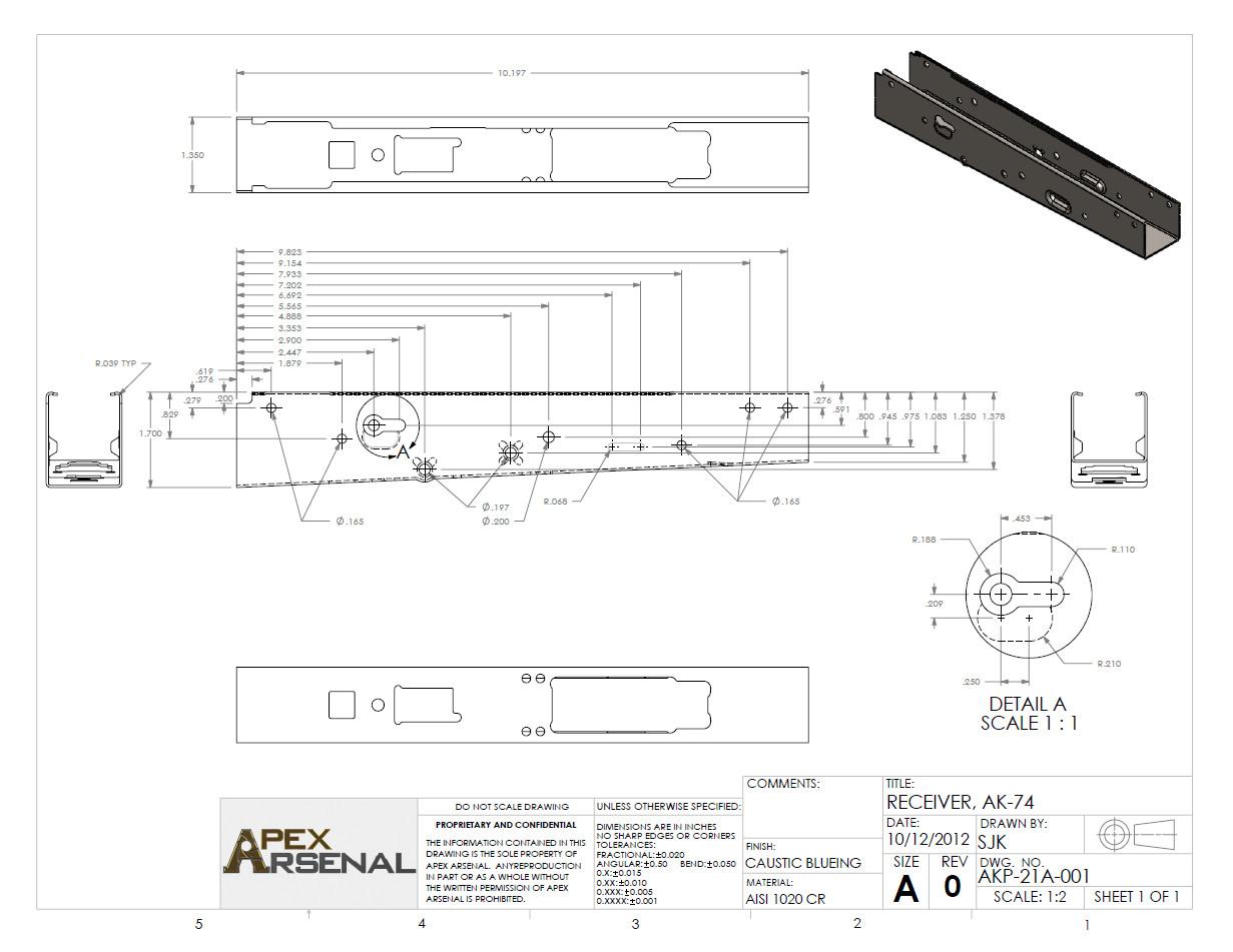 Ak 47 Receiver Template Ak 74 Print by Gundamgpo3 On Deviantart