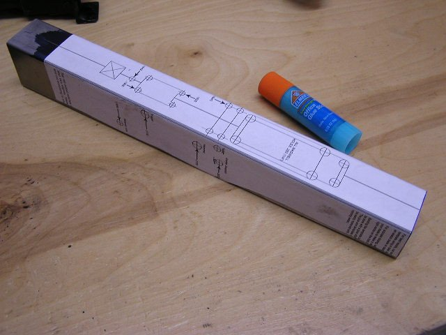 Ak Receiver Drilling Template Cncgunsmithing Ak47