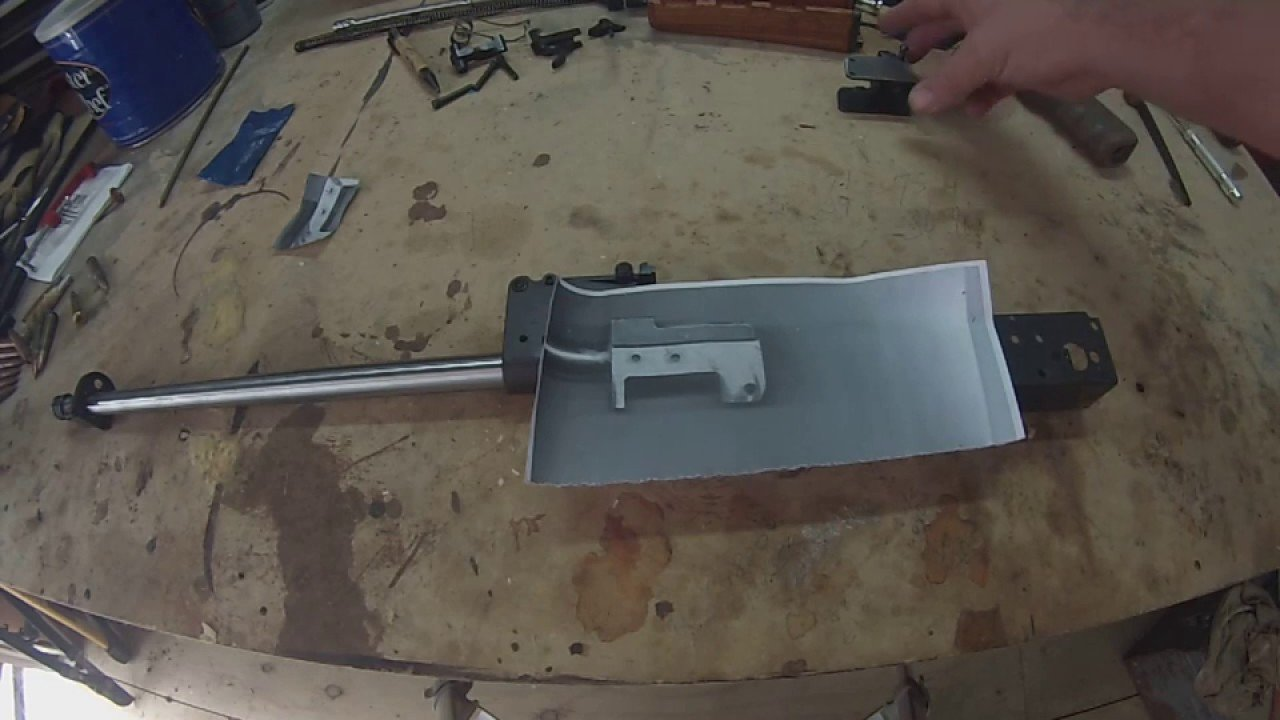 Ak Receiver Template Ak Receiver Rivet Hole Drilling Template