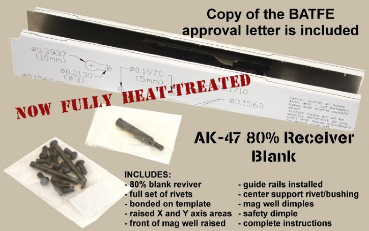 Ak Receiver Template Ak47 Receiver Blank Henderson Defense Industries