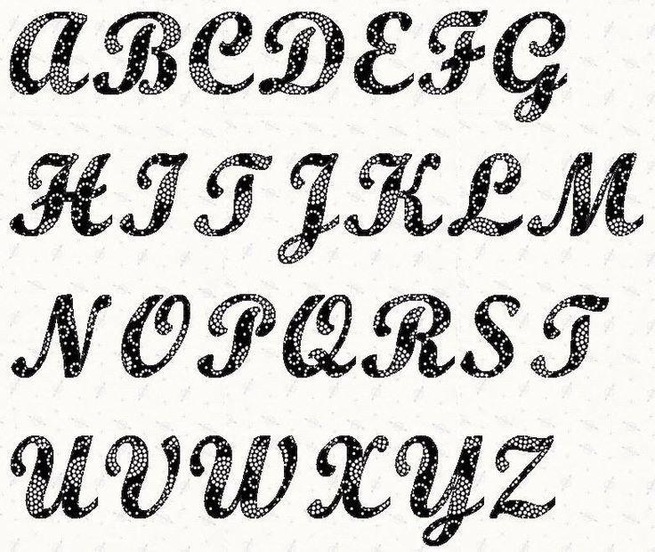 Alphabet Stencils for Painting Alphabet Script 4 Inch Stencil
