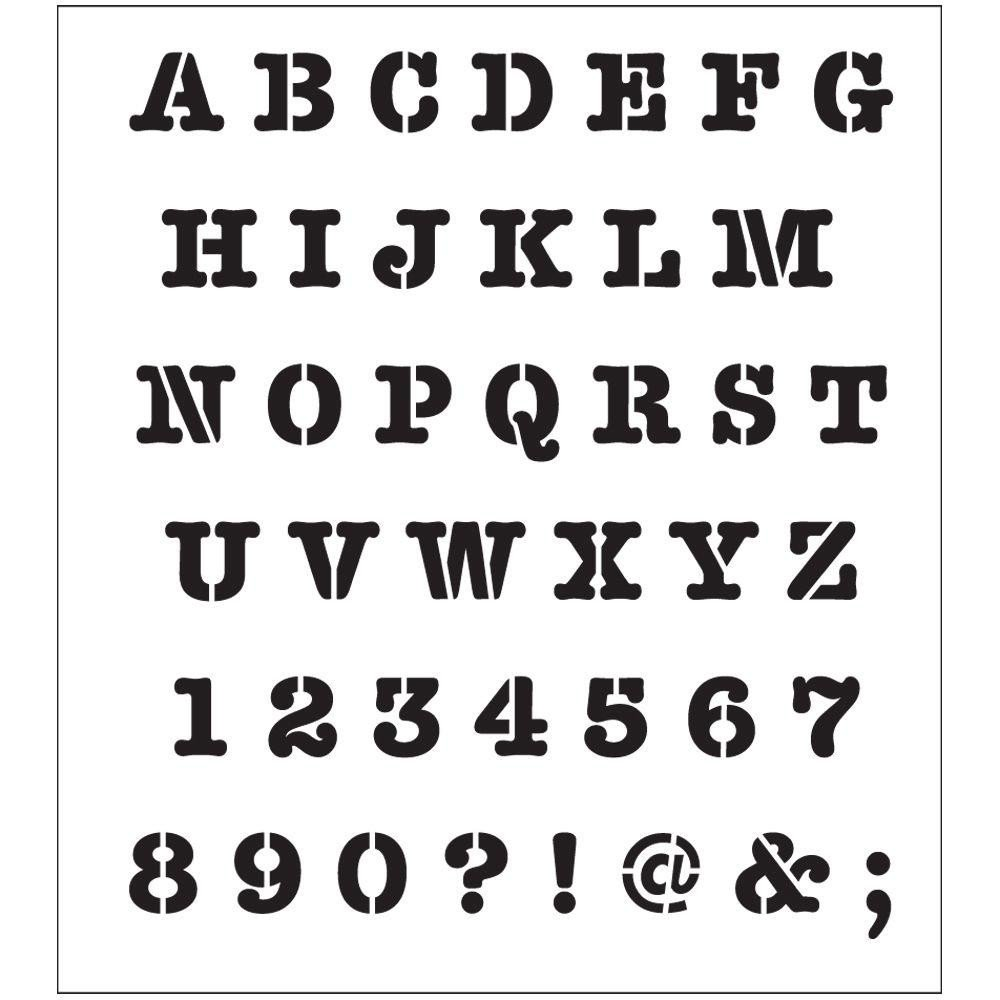 Alphabet Stencils for Painting Folkart Peel and Stick Painting Stencils the Home