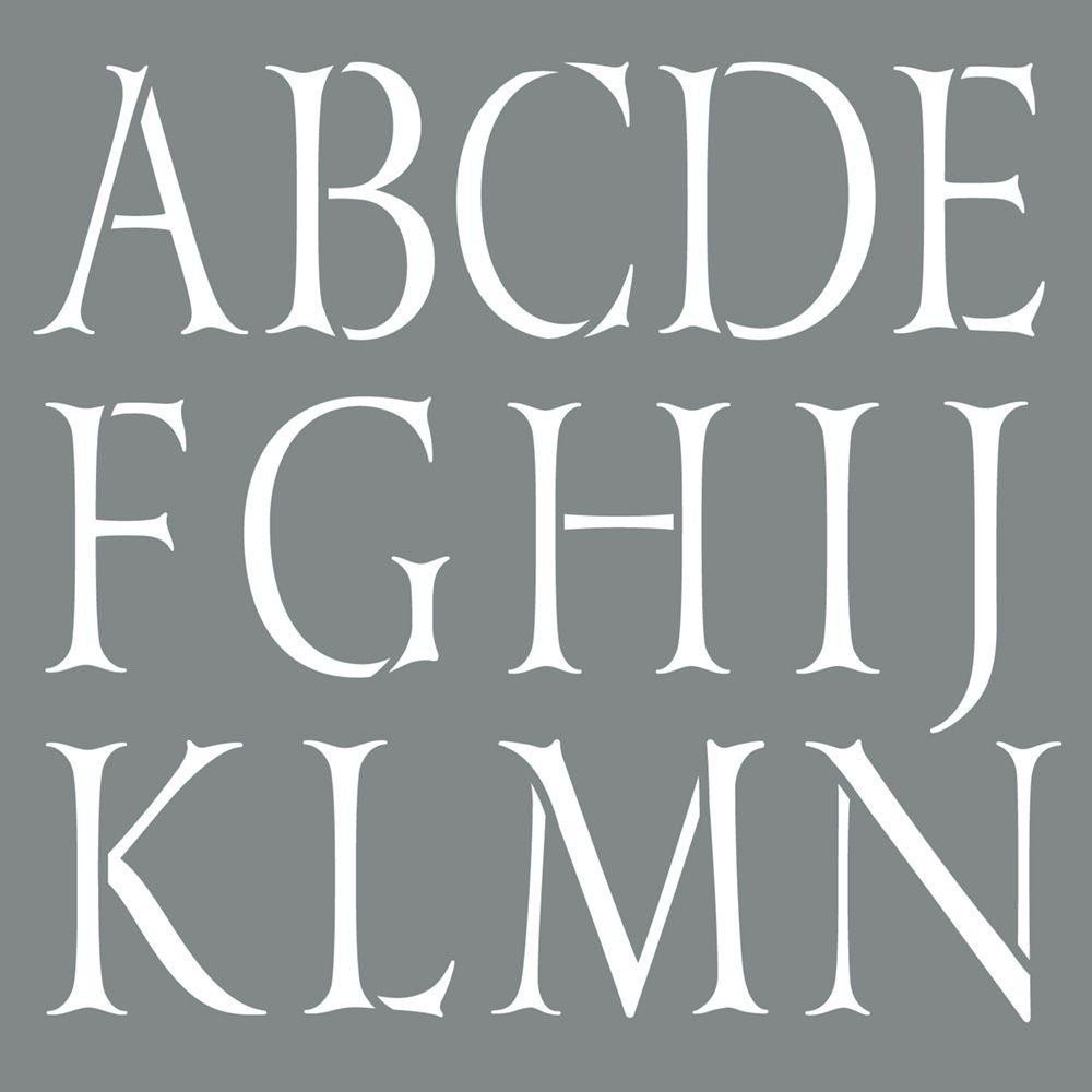 Alphabet Stencils for Painting Small Letter Stencils for Painting Defendbigbird