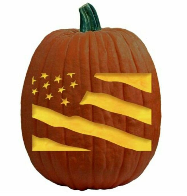 American Flag Pumpkin Carving Template 14 Best All American Pumpkin Carving Patterns Images On
