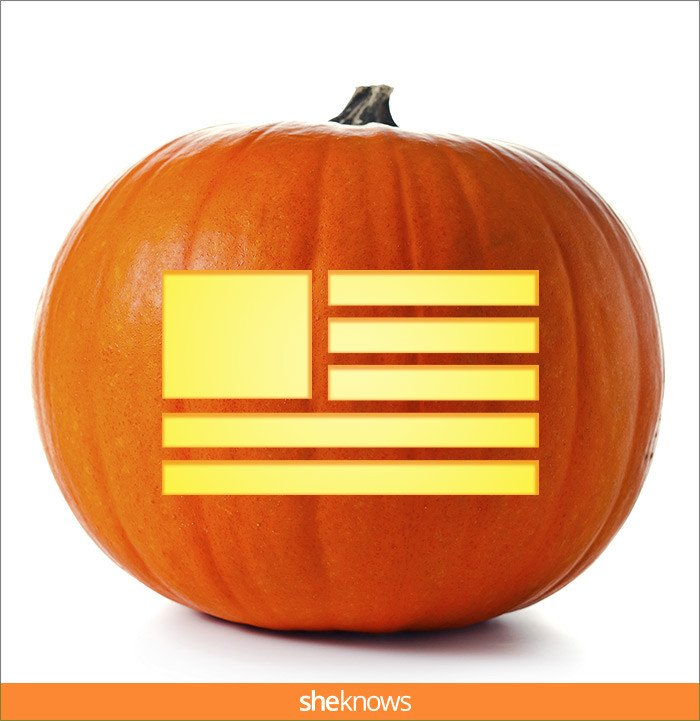 American Flag Pumpkin Carving Template 15 Pumpkin Carving Templates that Ll Make Your Halloween