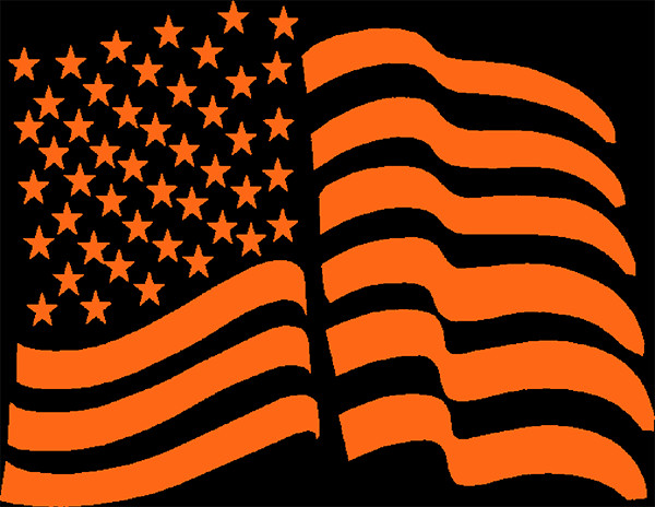 American Flag Pumpkin Carving Template Free Halloween Pumpkin Pattern Us Flag Pattern