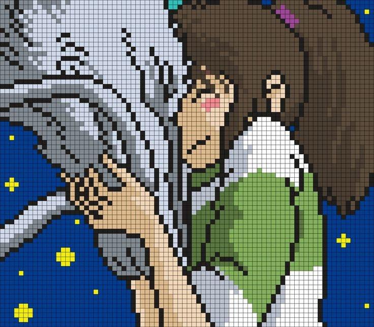 Anime Pixel Art Grid 1000 Ideas About Pixel Art Grid On Pinterest