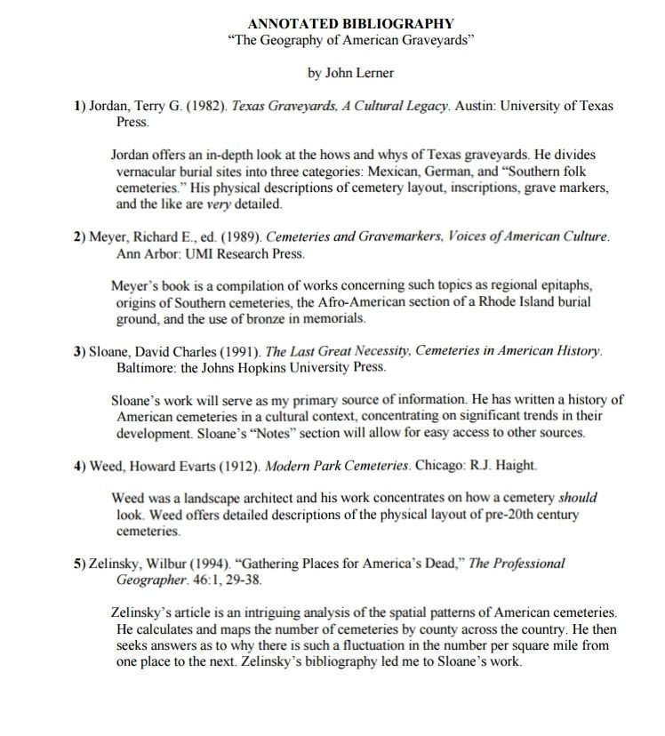 Annotated Bibliography Template Apa Annotated Bibliography Example Mla & Apa Sample Annotation