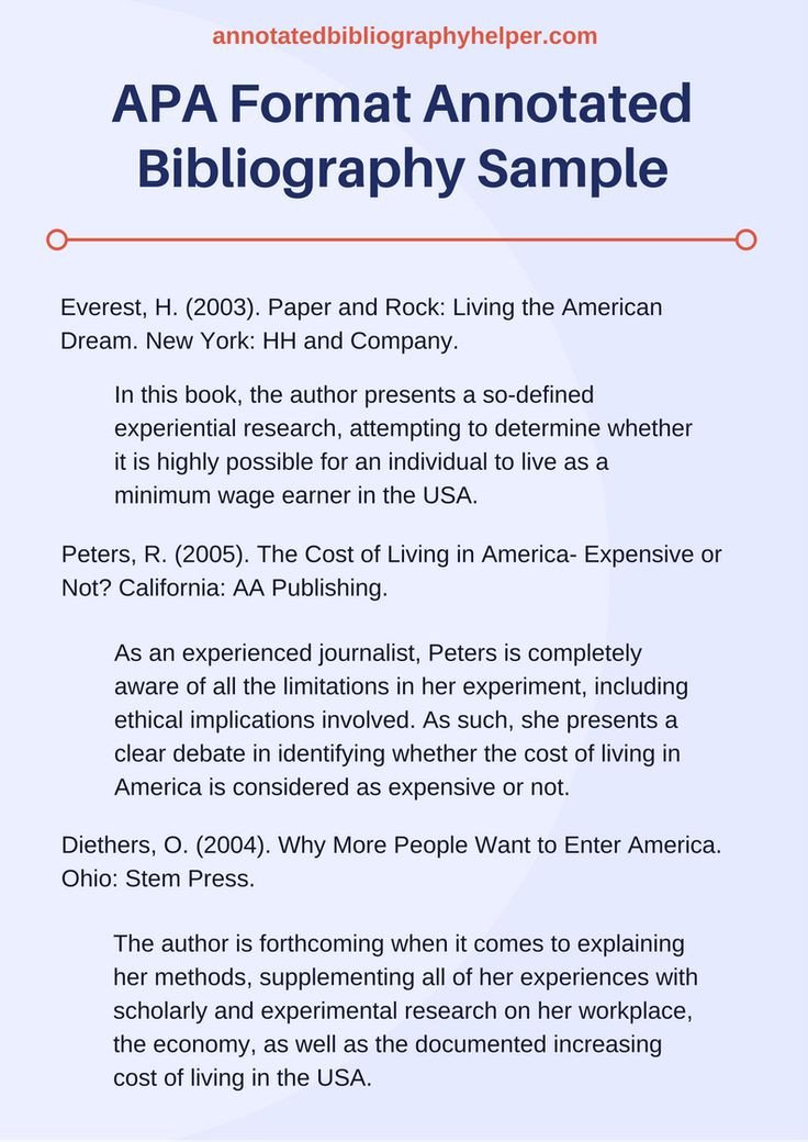 Annotated Bibliography Template Apa Best 25 Apa format Sample Paper Ideas On Pinterest