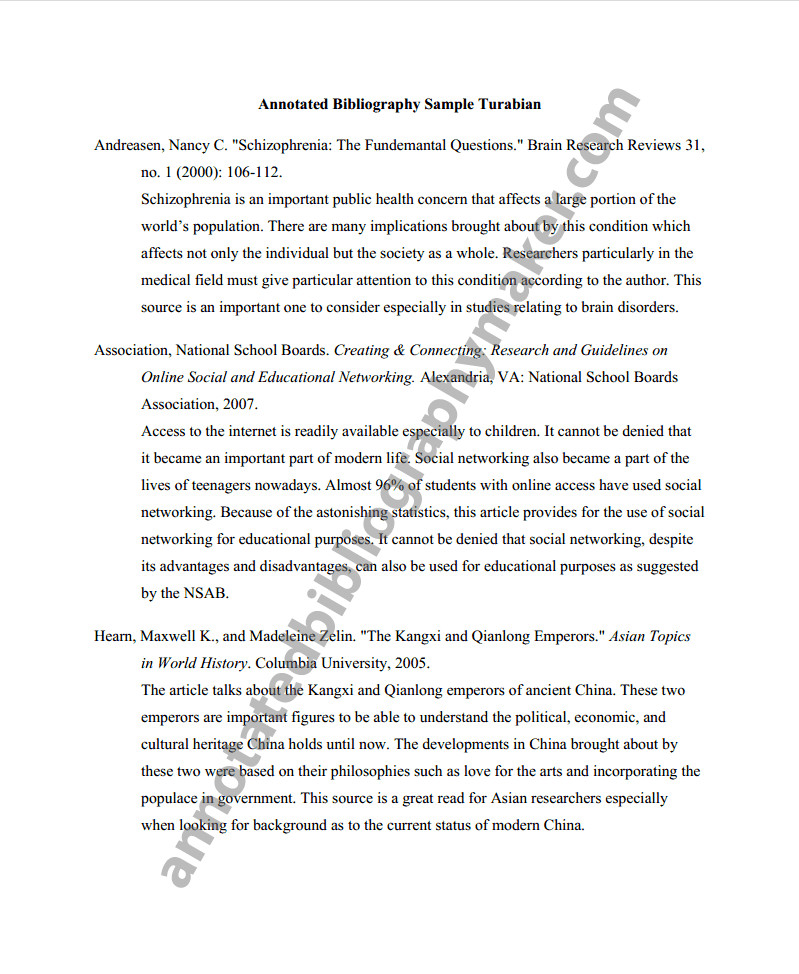 Annotated Bibliography Template Apa Get An Annotated Bibliography Apa format Here