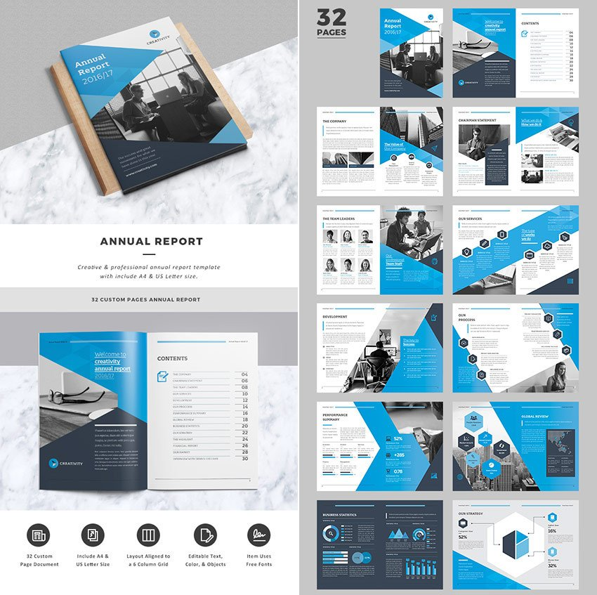 Annual Report Design Templates 15 Annual Report Templates with Awesome Indesign Layouts