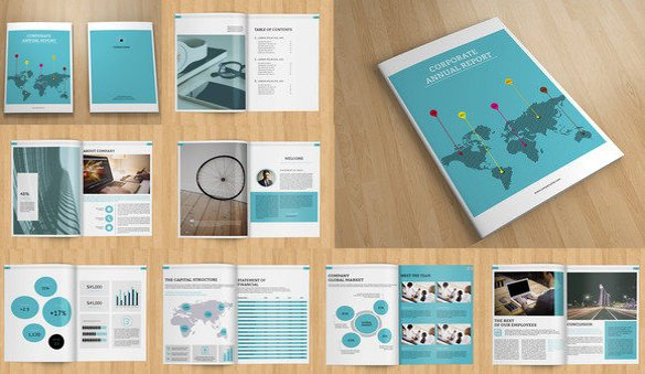 Annual Report Design Templates Annual Report Template 46 Free Word Excel Pdf Ppt