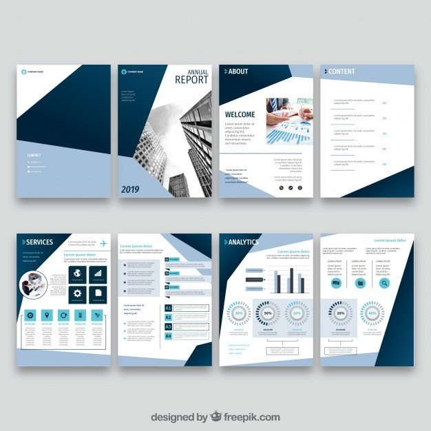 Annual Report Design Templates Annual Report Vectors S and Psd Files