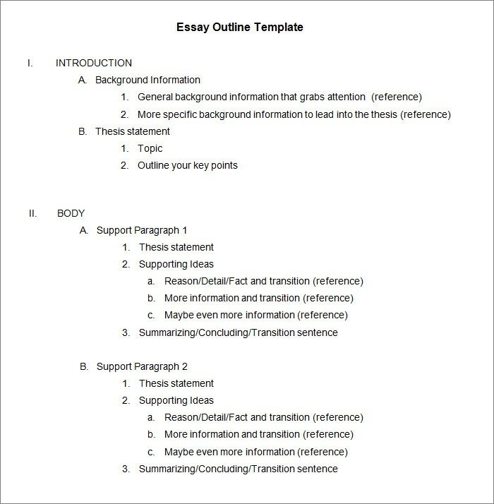 Apa formal Outline Outline Example Apa Idealstalist