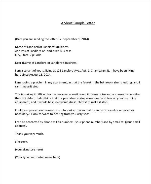 Apartment Noise Complaint Letter 36 Plaint Letter Samples