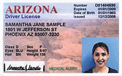 Arizona Id Template Arizona Sets April Deadline to Have Real Id Cards