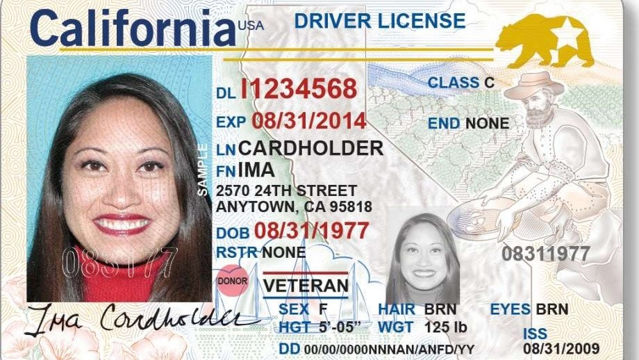 Arizona Id Template California Driver S Licenses Will soon Have A New Look