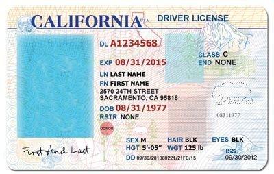 Arizona Id Template California Drivers License Template Google Search