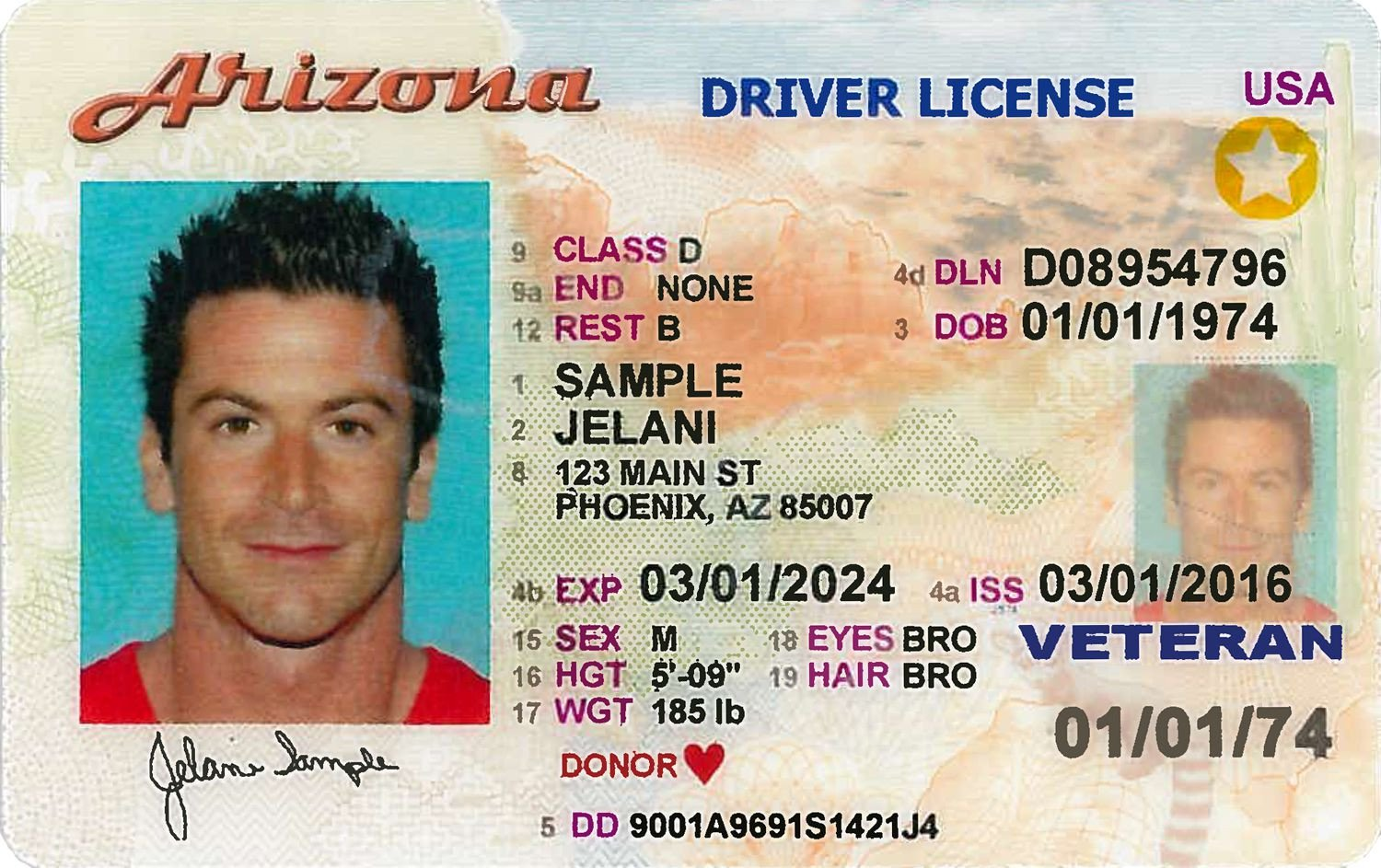 Arizona Id Template How to Renew An Arizona Driver License