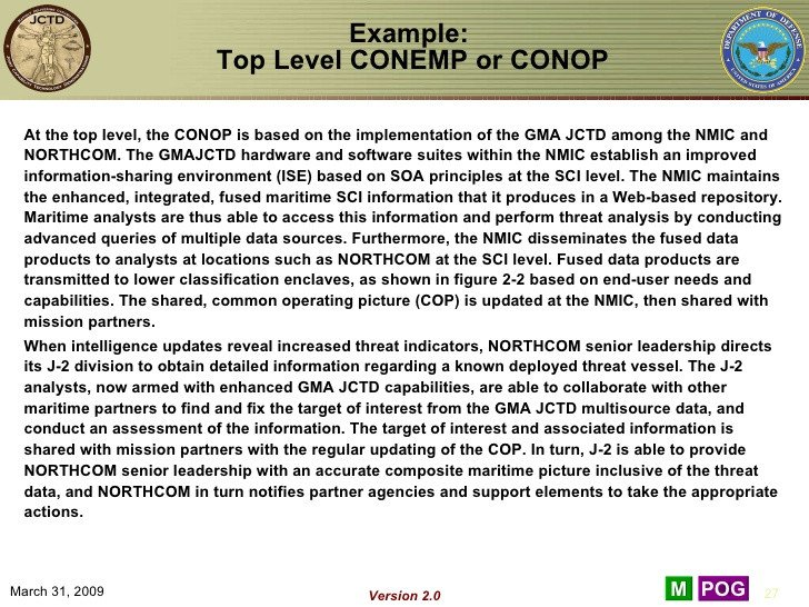 Army Conop Example Crb Examples