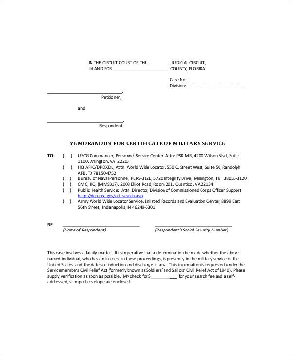 Army Memorandum for Record Template 9 Blank Memo Examples & Samples Pdf Word Apple Pages