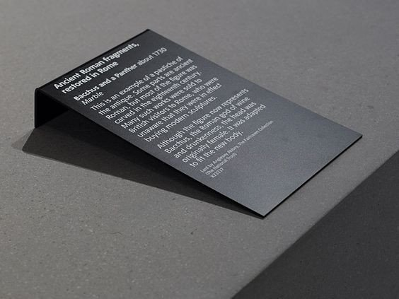 Art Show Label Template Exhibition Design Exhibition Display Exhibit Label